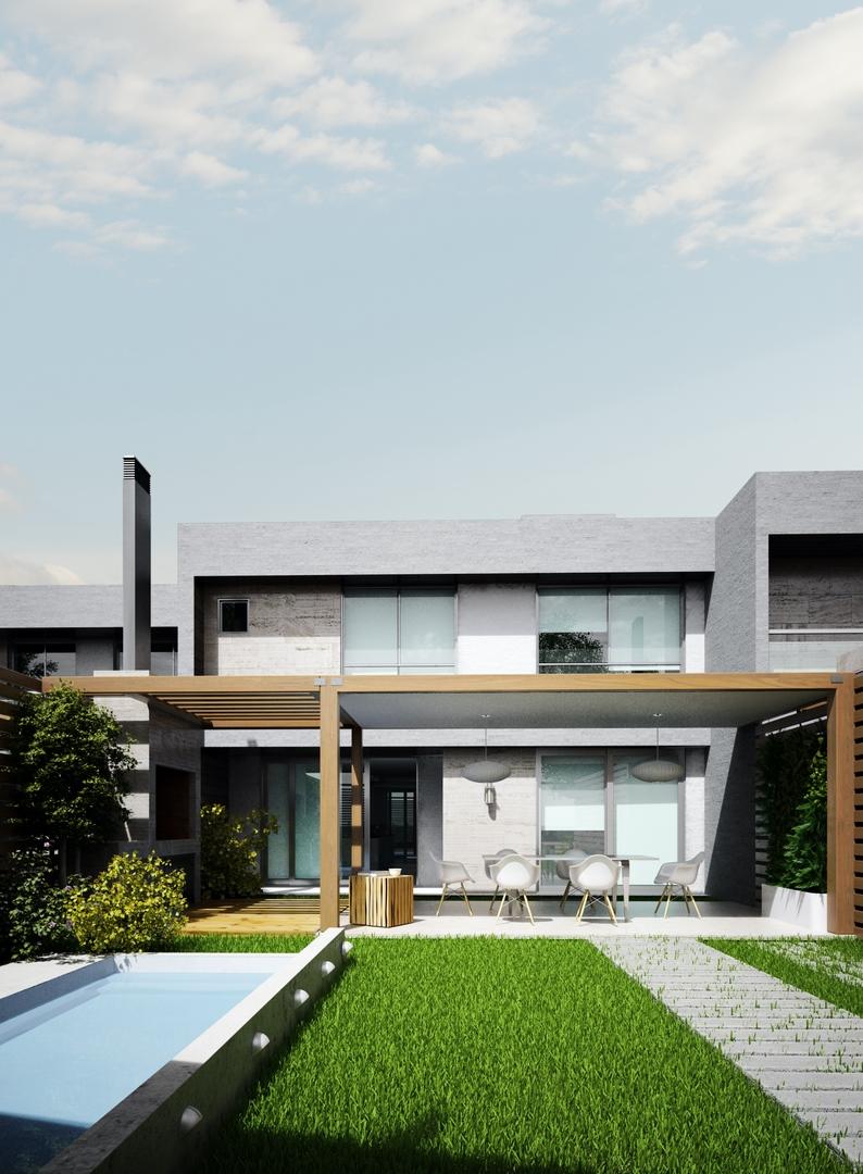 Planos de casas con patio interior interior design for Planos de casas con patio interior